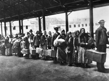 Argentina el día del inmigrante.