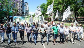 La CTA se movilizó en la Ciudad de Buenos Aires contra la criminalización de la lucha de los azucareros