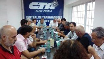 El Secretario General y el Secretario de Política Económica de la CSA visitaron la CTA Autónoma