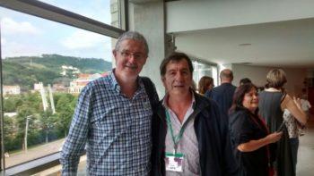 El Secretario General de ELA País Vasco refrendó la amistad con la CTA Autónoma