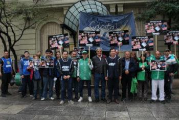 LA CTA-A exige la liberación de Han Sang-gyun presidente de la KCTU