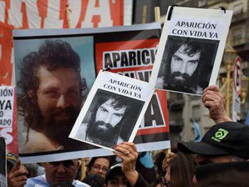 La CSA repudia y condena la desaparición de Santiago Maldonado y la brutal represión a miembros de la comunidad mapuche Cushamen