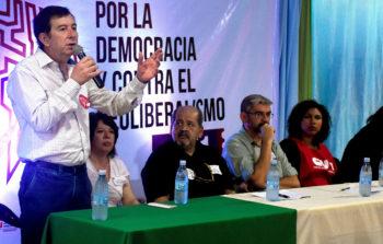 """""""Fito"""" Aguirre: """"Queremos construir colectivamente la política internacional de la Central"""""""
