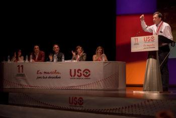 Finalizó el XI Congreso de la Unión Sindical Obrera de España